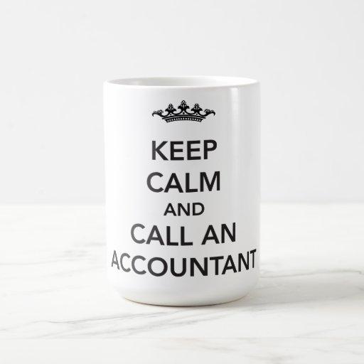 Keep Calm Accountant Mug