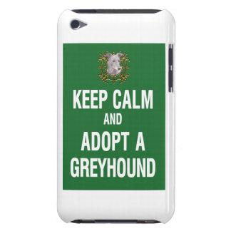 Keep Calm Adopt a Greyhound iPod Touch Case