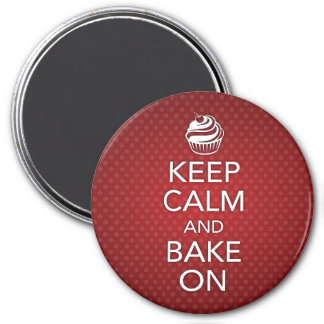 Keep Calm and Bake On Magnet