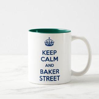Keep Calm and Baker Street Mug