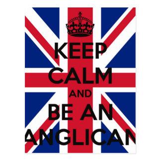 Keep Calm and be an Anglican Postcard