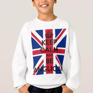 Keep Calm and be Anglican Sweatshirt