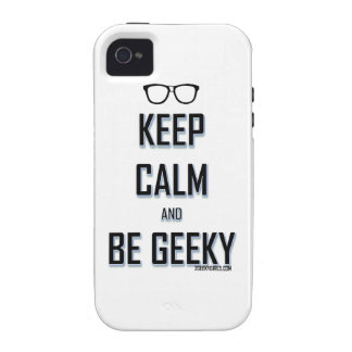 Keep Calm And Be Geeky iPhone 4/4S Cover