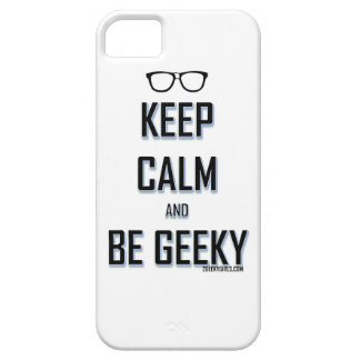 Keep Calm And Be Geeky iPhone 5 Cover