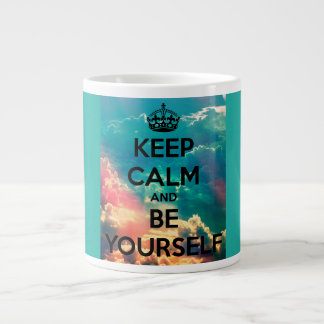 Keep Calm and Be Yourself Jumbo Coffee/Tea Mug