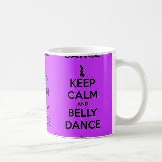 Keep Calm and Belly Dance Mug