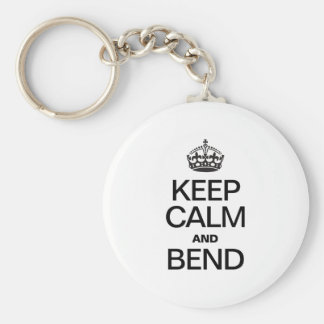 KEEP CALM AND BEND KEY CHAINS