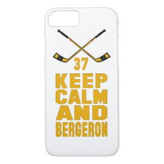 Keep Calm and Bergeron iPhone 7 case