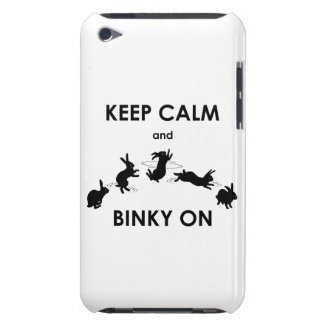 Keep Calm and Binky On iPod Touch (choose color) iPod Touch Case-Mate Case