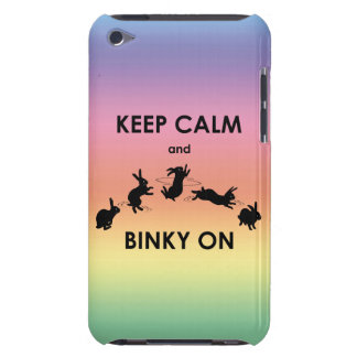 Keep Calm and Binky On iPod Touch (Rainbow) Case-Mate iPod Touch Case