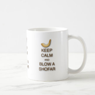 Keep Calm and Blow a Shofar Mug