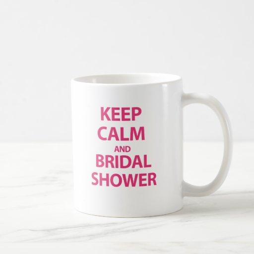 Keep Calm and Bridal Shower! Mugs