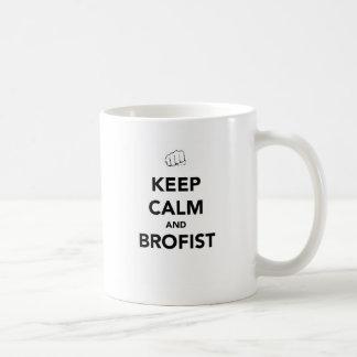 Keep Calm And Bro Fist Mug