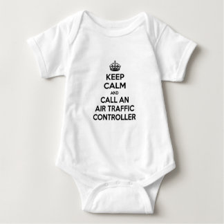 Keep Calm and Call an Air Traffic Controller Baby Bodysuit