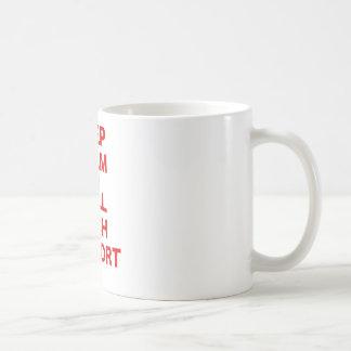 Keep Calm and Call Tech Support Coffee Mugs