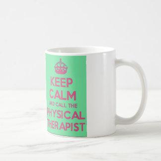 Keep Calm and Call the Physical Therapist Mug