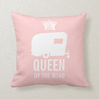 Keep Calm and Camp On - RV Queen of the Road Cushion