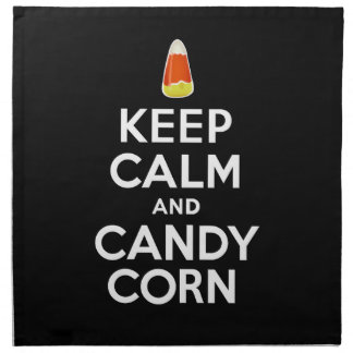 Keep Calm and Candy Corn Napkin