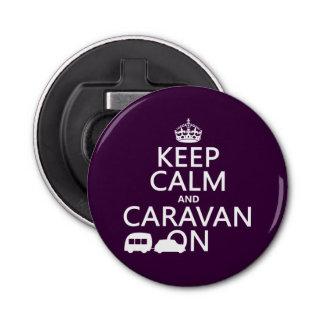 Keep Calm and Caravan Bottle Opener