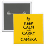 Keep Calm and Carry a Camera Buttons