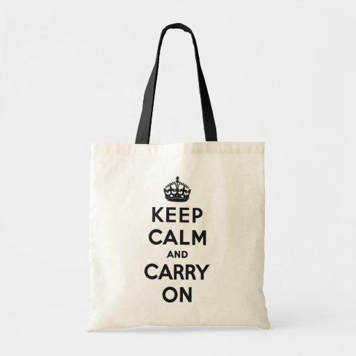 Keep Calm and Carry On Bag
