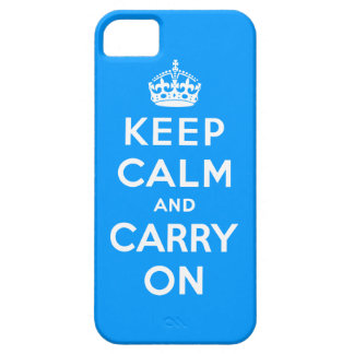 Keep Calm And Carry On Barely There iPhone 5 Case