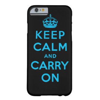 keep calm and carry on barely there iPhone 6 case