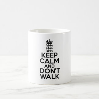 Keep calm and carry on cricket coffee mug
