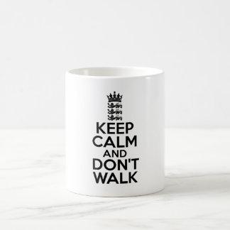 Keep calm and carry on cricket mugs