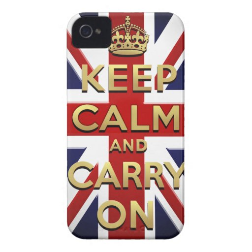 Keep Calm and Carry on from London to Weymouth Case-Mate Blackberry Case