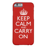 Keep Calm And Carry On iPhone 5 Cover