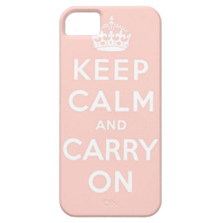 keep calm and carry on Original Barely There iPhone 5 Case