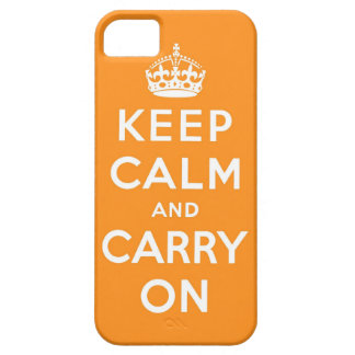 keep calm and carry on Original iPhone 5 Cases