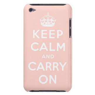 keep calm and carry on Original iPod Touch Cover