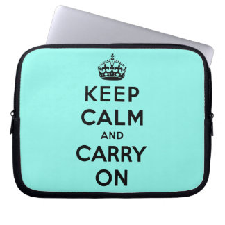 keep calm and carry on Original Laptop Sleeves