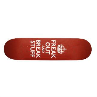 Keep Calm and Carry On Parody Skate Board Decks