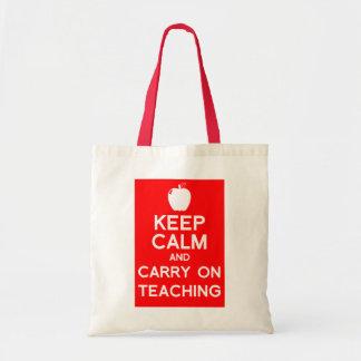 Keep calm and carry on Teacher's Book Bag