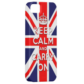 keep calm and carry on Union Jack flag Case For The iPhone 5