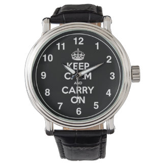 Keep Calm And Carry On Watch