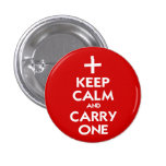 Keep Calm and Carry One Badge