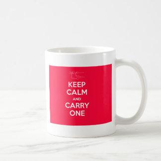 Keep Calm and Carry One geek mug
