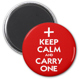 Keep Calm and Carry One Magnet