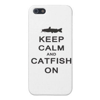 Keep Calm and Catfish On - iPhone case iPhone 5 Cover