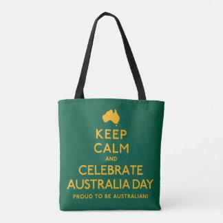 Keep Calm and Celebrate Australia Day! Tote Bag