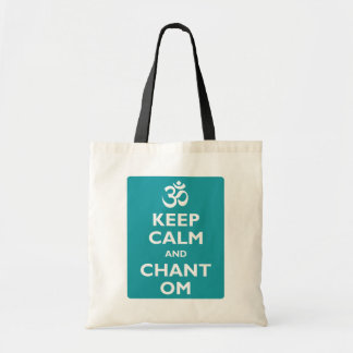 Keep Calm and Chant Om Tote Bag