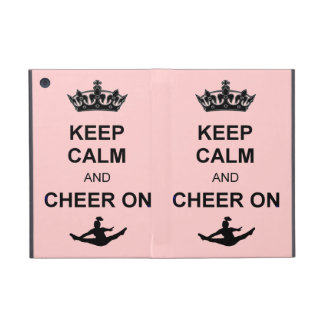 Keep Calm and Cheer on Cover For iPad Mini