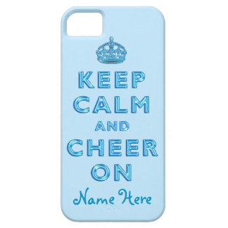 KEEP CALM AND CHEER ON iPhone for Cheerleaders iPhone 5 Cases