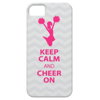KEEP CALM and CHEER ON - Pink - iPhone5 case