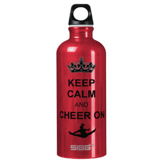 Keep Calm and Cheer on SIGG Traveller 0.6L Water Bottle