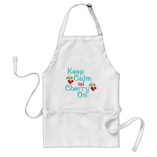 Keep Calm And Cherry On Apron